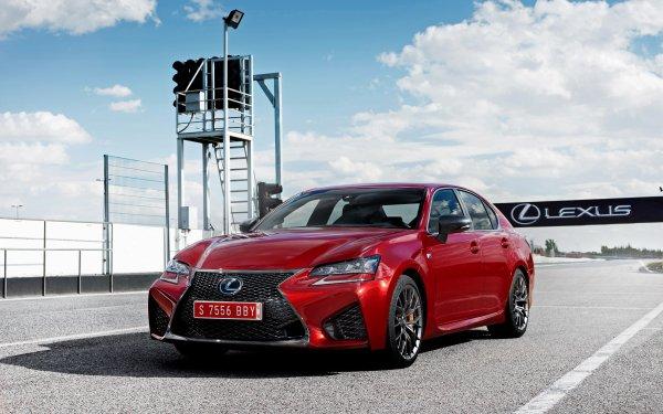 Véhicules Lexus GS Lexus Red Car Voiture Luxury Car Fond d'écran HD | Image