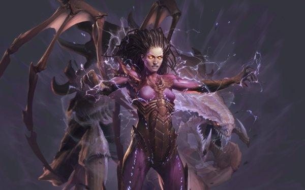 Video Game StarCraft II: Legacy of the Void Starcraft Starcraft II Sarah Kerrigan HD Wallpaper | Background Image