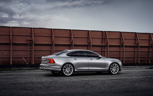 Vehicles Volvo S90 Volvo Car Luxury Car Silver Car HD Wallpaper | Background Image