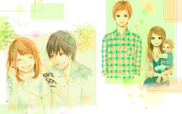 Anime Orange Naho Takamiya Kakeru Naruse Hiroto Suwa HD Wallpaper | Background Image