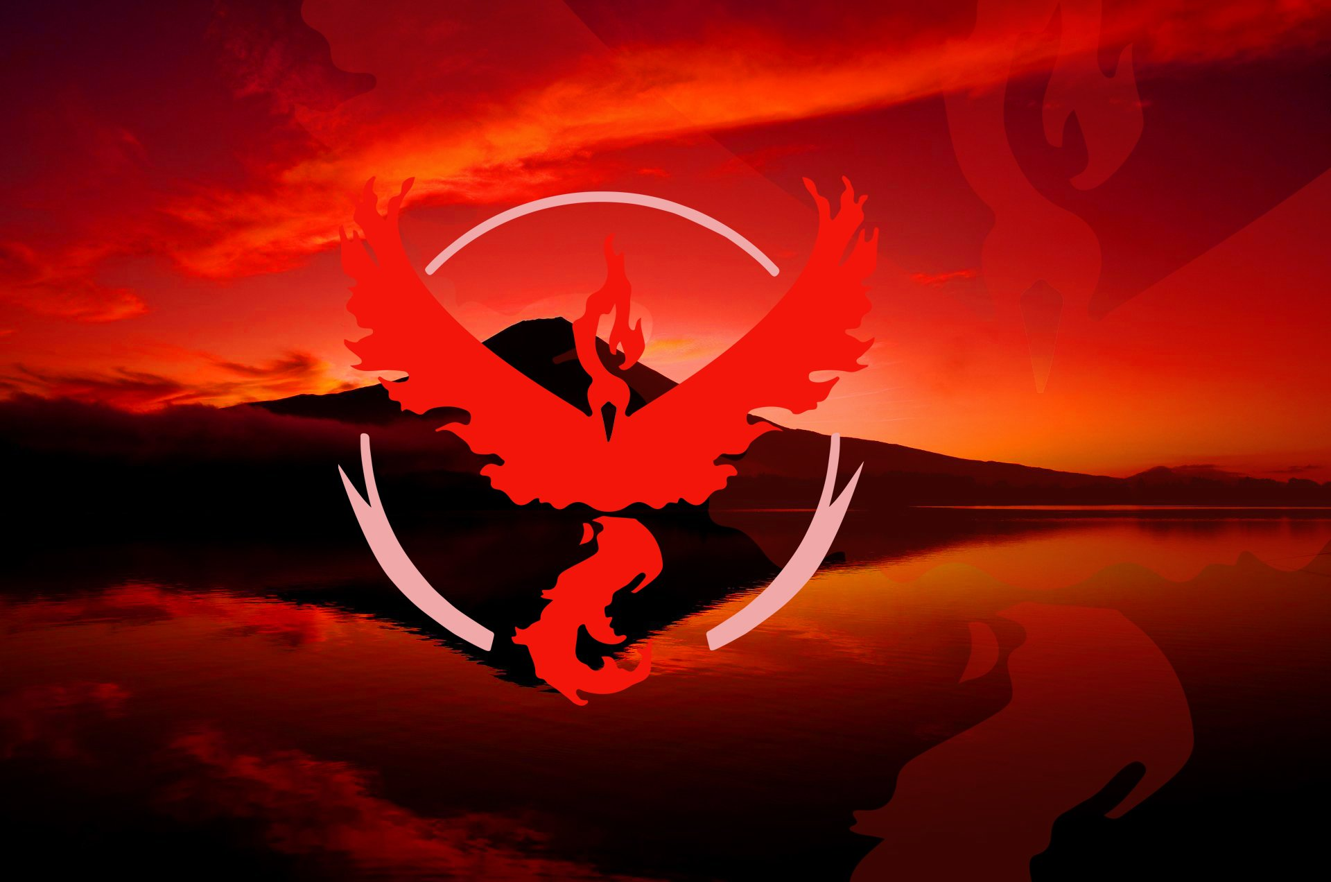 Video Game - Pokemon GO  Team Valor Wallpaper
