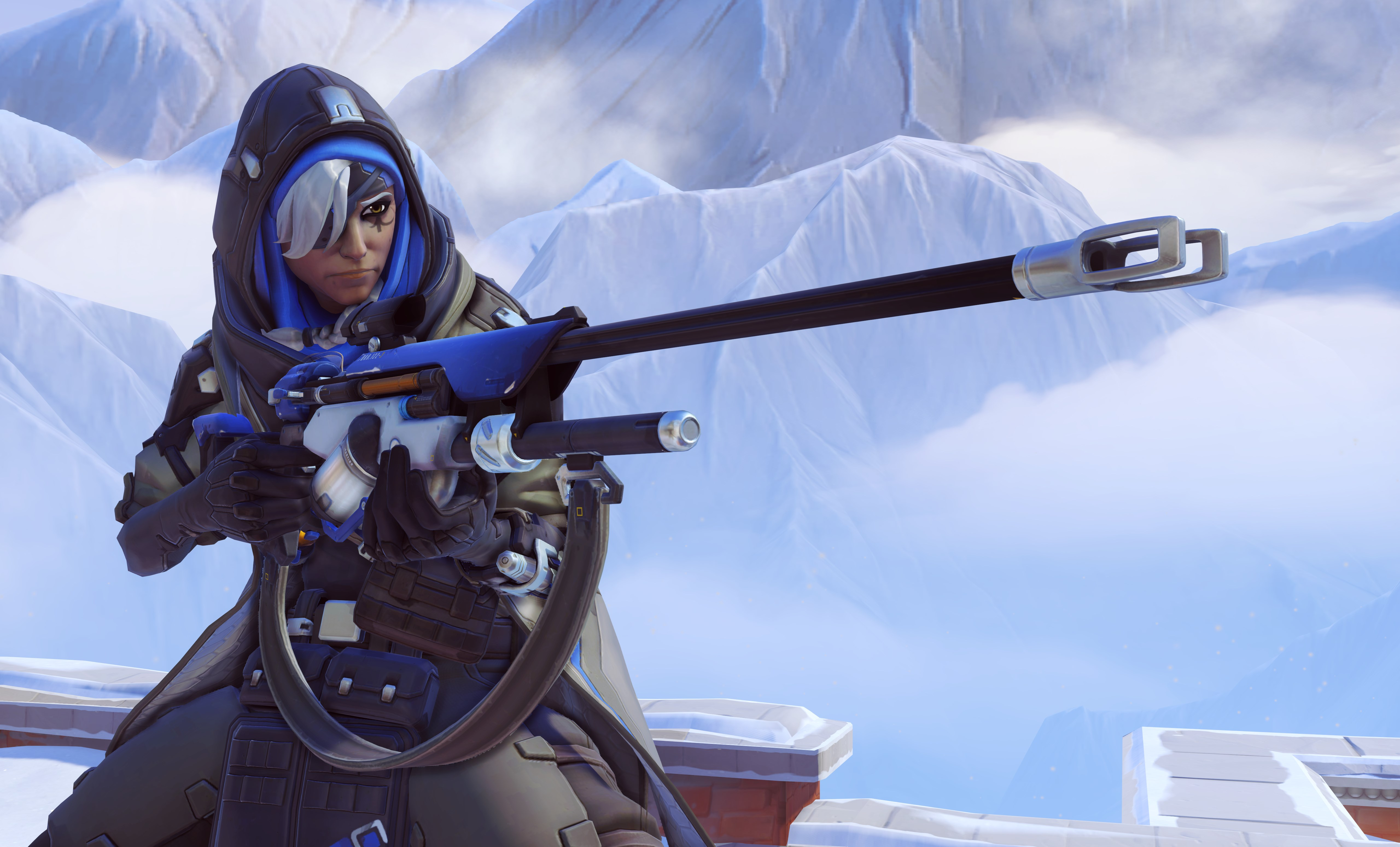 53 Ana Overwatch Hd Wallpapers Background Images Wallpaper Abyss
