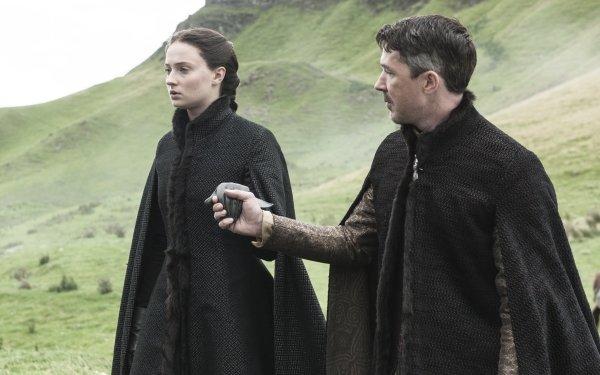 TV Show Game Of Thrones Petyr Baelish Aidan Gillen Sansa Stark Sophie Turner HD Wallpaper | Background Image