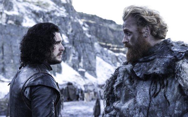 TV Show Game Of Thrones Jon Snow Kit Harington Kristofer Hivju Tormund Giantsbane HD Wallpaper | Background Image