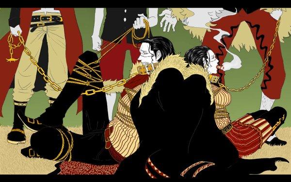 Anime One Piece Crocodile Smoke HD Wallpaper | Background Image