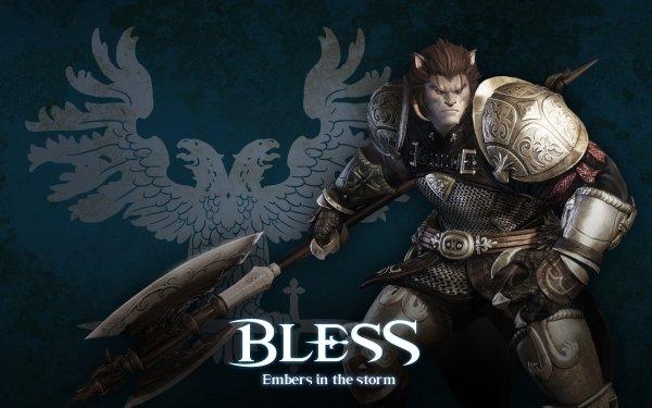 Video Game Bless Online Warrior Berserk HD Wallpaper | Background Image