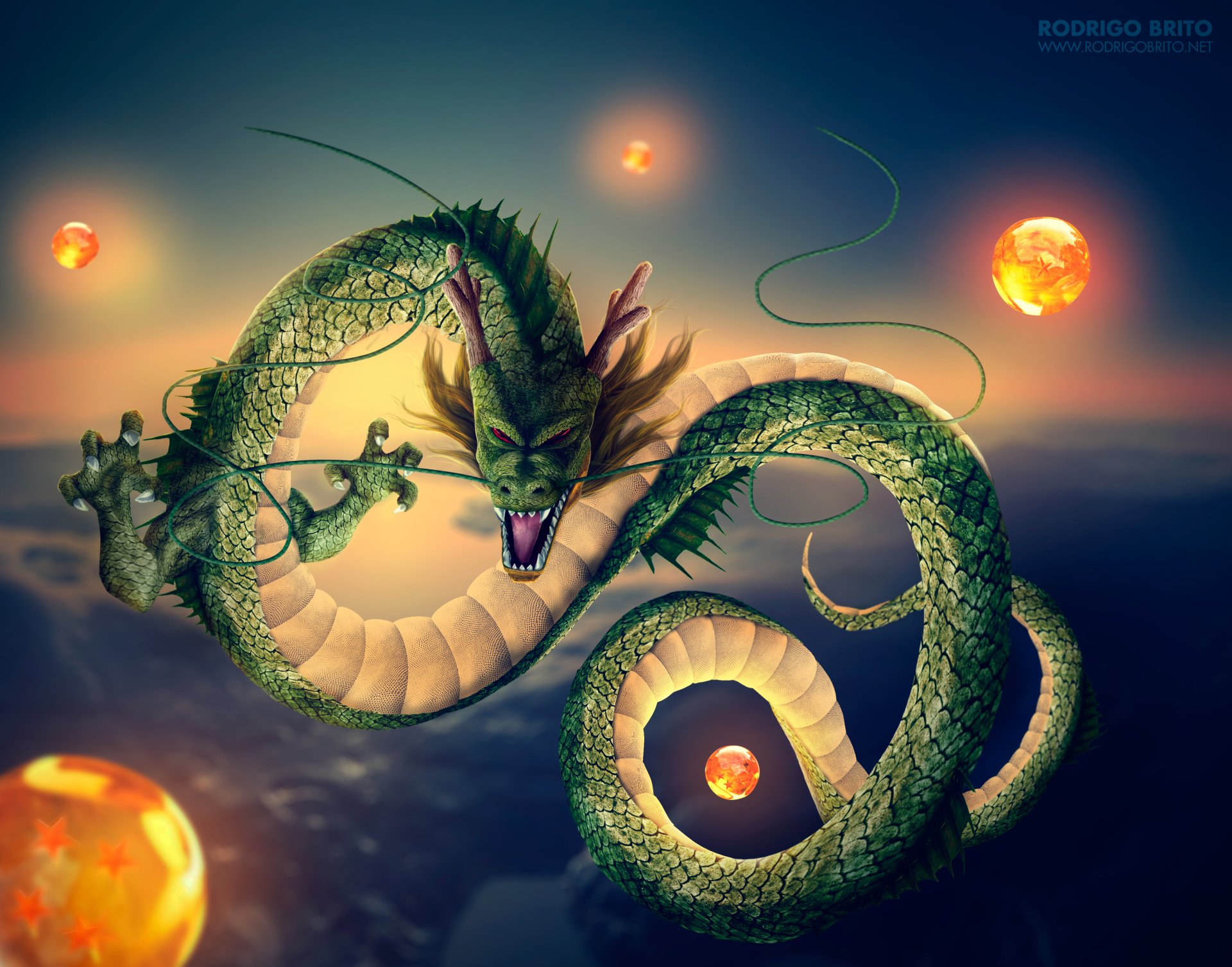 2 4k Ultra Hd Shenron Dragon Ball Wallpapers Background Images Wallpaper Abyss