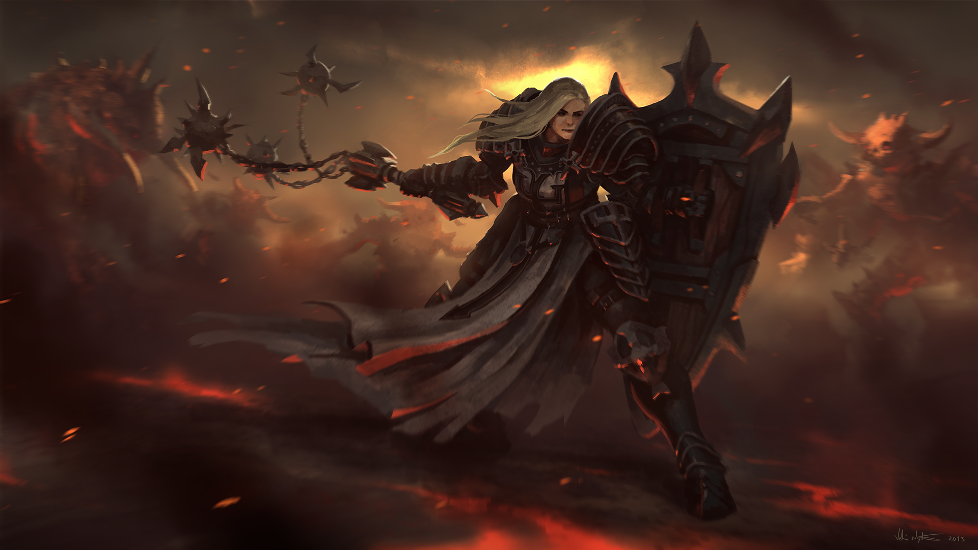 Diablo III: new game PS4 wallpapers and images - wallpapers ...