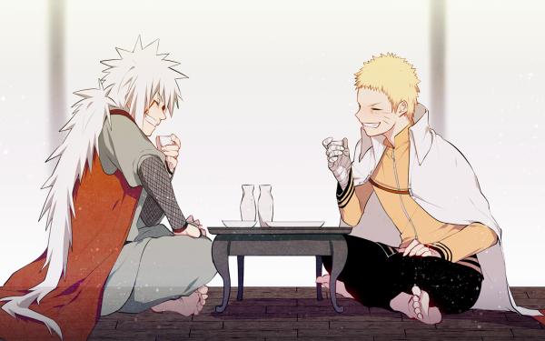 Anime Naruto Naruto Uzumaki Jiraiya Fondo de pantalla HD | Fondo de Escritorio