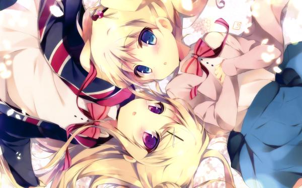 Anime KINMOZA! HD Wallpaper | Background Image