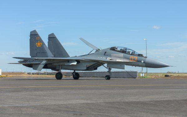 Military Sukhoi Su-30 Jet Fighters Jet Fighter Aircraft Warplane HD Wallpaper | Background Image