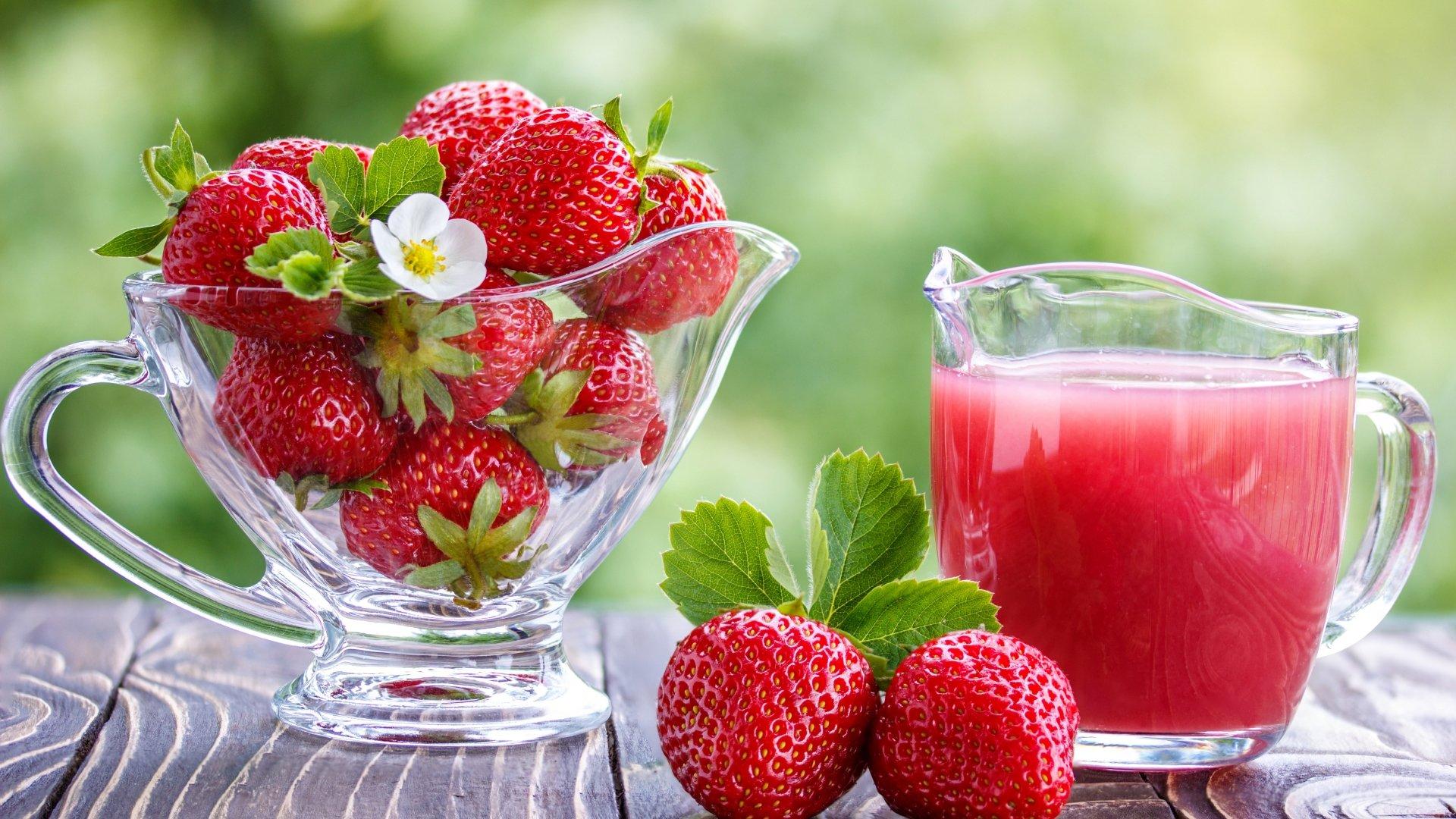 Strawberry 8k Ultra HD Wallpaper