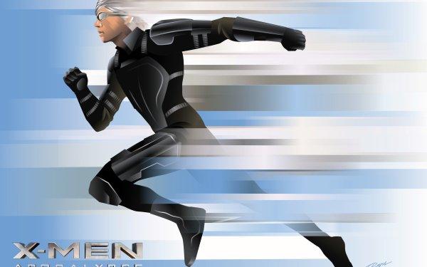 Movie X-Men: Apocalypse X-Men Quicksilver Evan Peters Peter Maximoff HD Wallpaper | Background Image