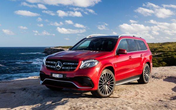 Véhicules Mercedes-Benz GL-Class Mercedes-Benz Voiture Red Car Luxury Car SUV Fond d'écran HD | Image