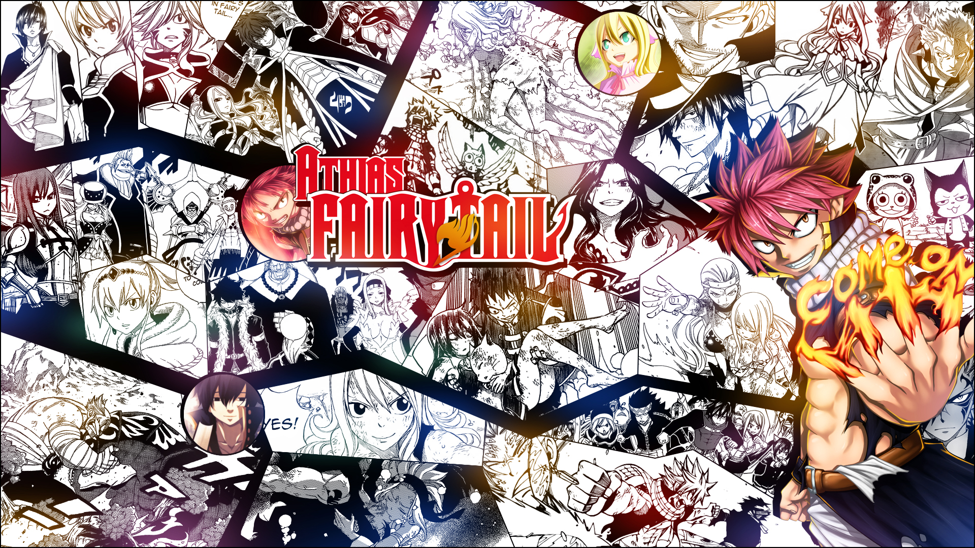 Fairy Tail Hd Wallpaper Background Image 1920x1080 Id 735710