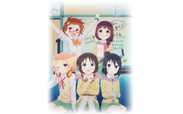 Anime Magic of Stella Yumine Fuda Kayo Fujikawa Tamaki Honda Shiina Murakami Ayame Seki Stella no Mahou HD Wallpaper   Background Image