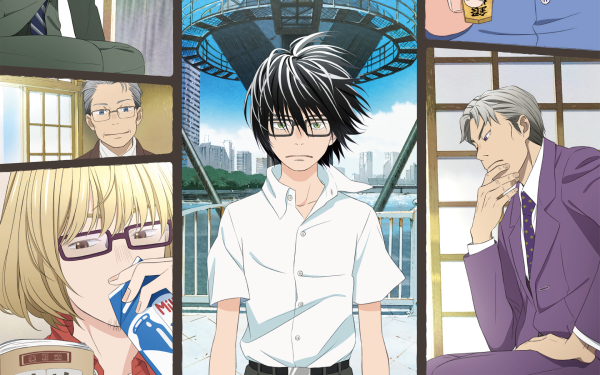 Anime March Comes in Like a Lion Rei Kiriyama Sangatsu no Lion HD Wallpaper | Background Image