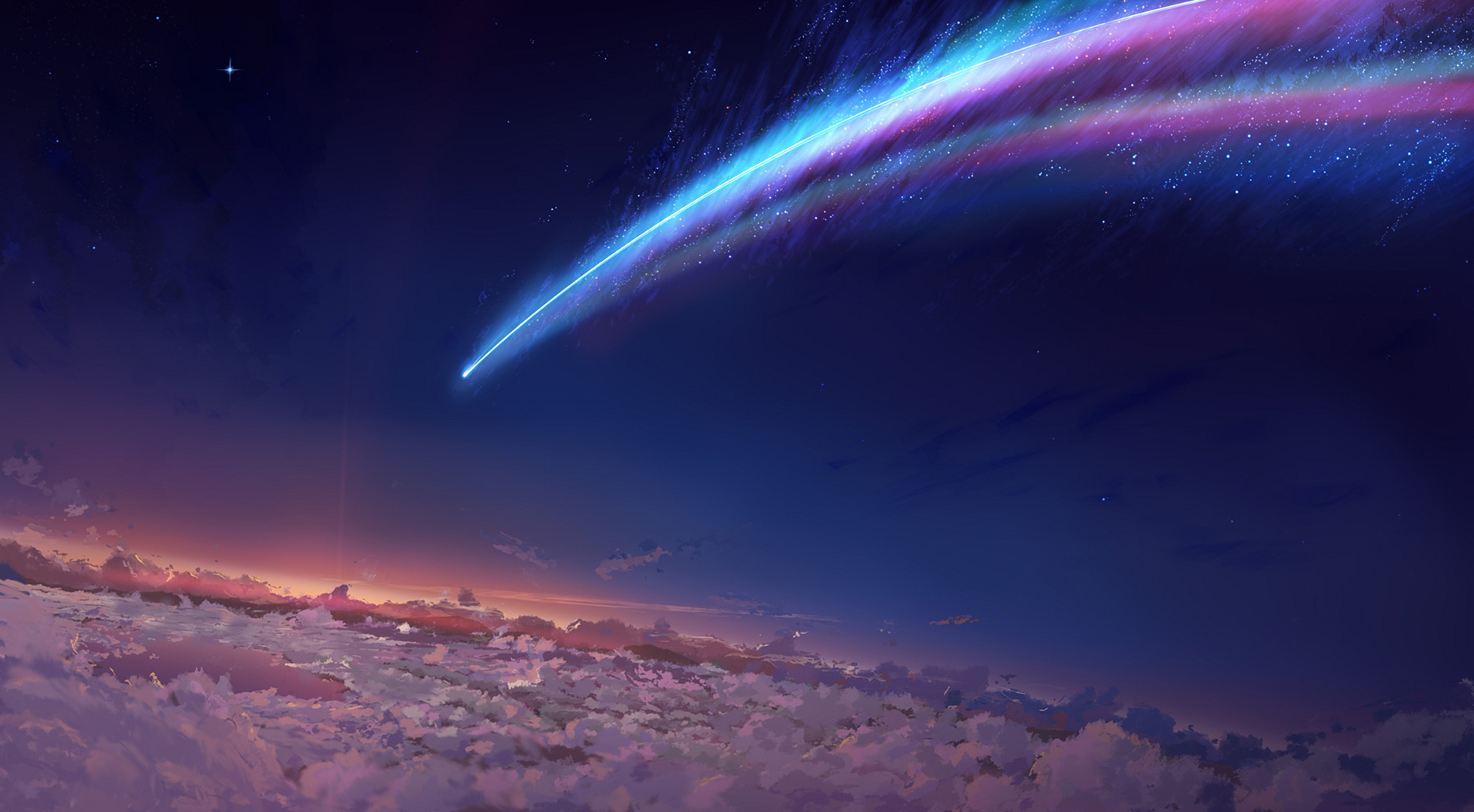Image result for kimi no na wa scenery