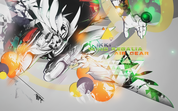 Anime Air Gear HD Wallpaper | Background Image