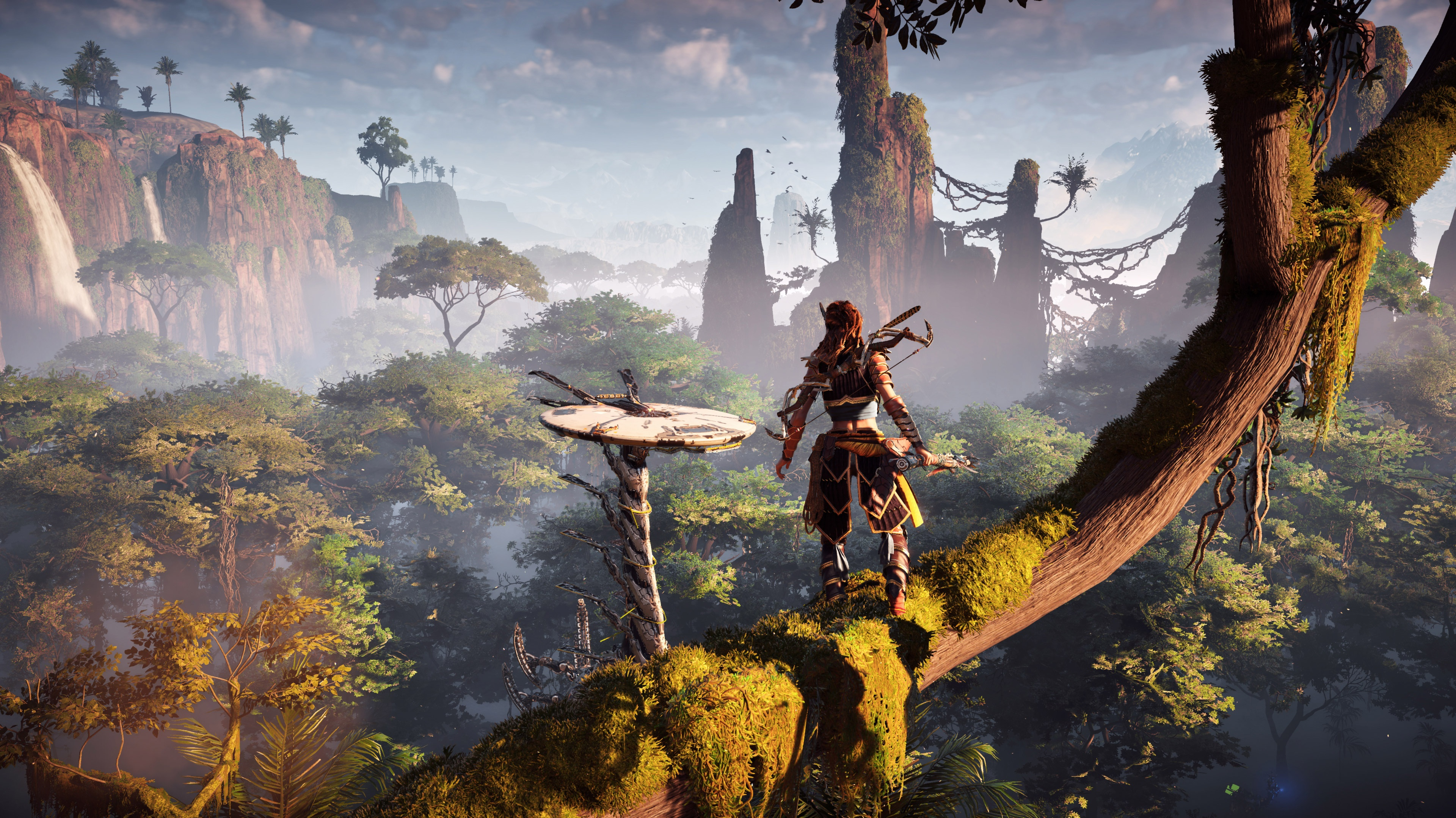 Horizon Zero Dawn 4k Ultra Papel De Parede HD