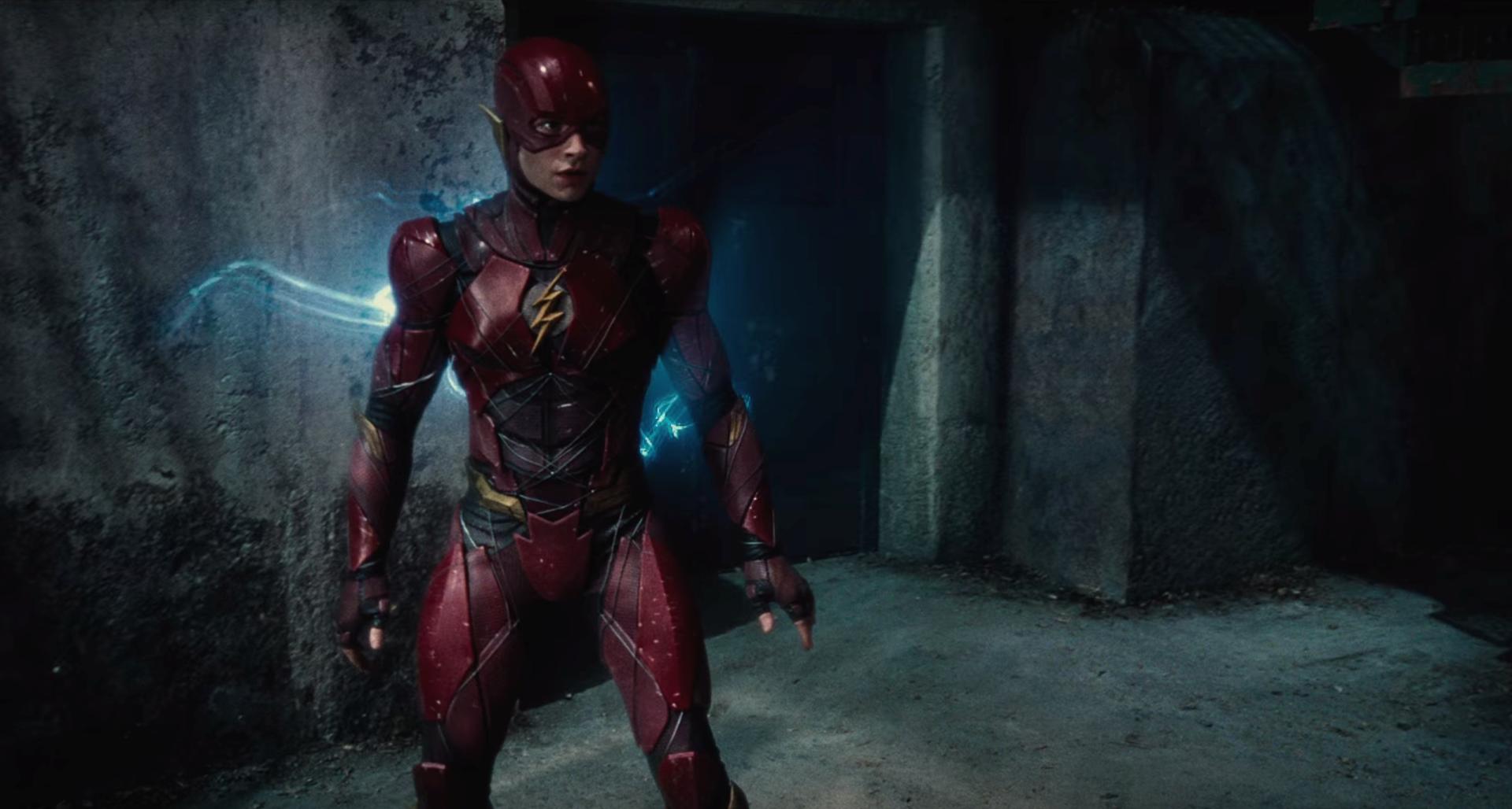 Movie - Justice League (2017)  Ezra Miller Justice League Flash DC Universe Wallpaper