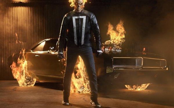 Series de Televisión Marvel's Agents of S.H.I.E.L.D. Ghost Rider Robbie Reyes Fondo de pantalla HD | Fondo de Escritorio