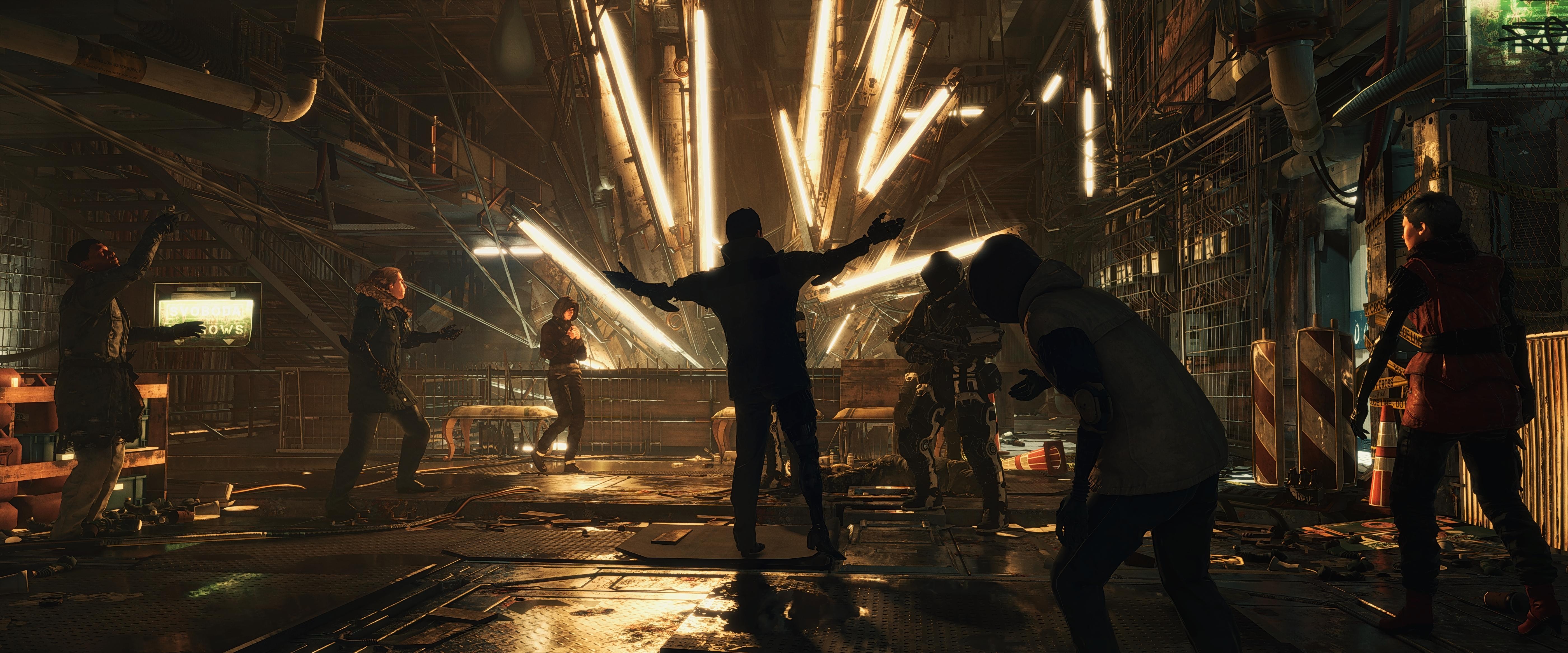 Deus Ex Mankind Divided 4k Ultra Hd Wallpaper Background Image