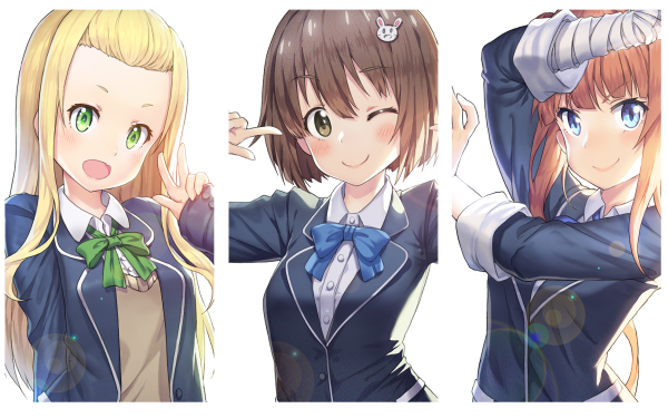 Anime This Art Club Has a Problem! Mizuki Usami Maria Imari Collette Kono Bijutsubu ni wa Mondai ga Aru! HD Wallpaper | Background Image