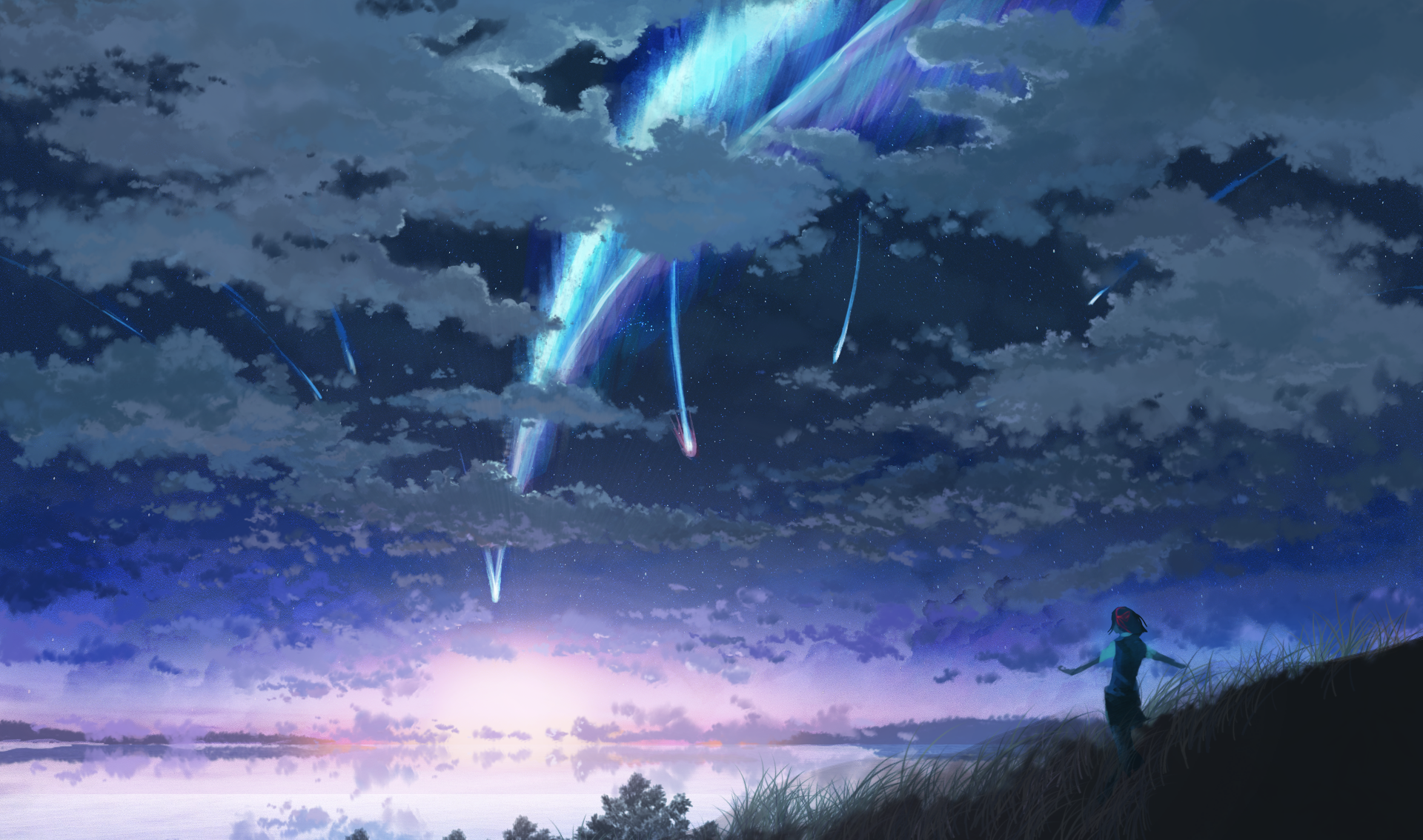 Your Name Hd Wallpaper Background Image 1920x1134 Id 740271 Wallpaper Abyss