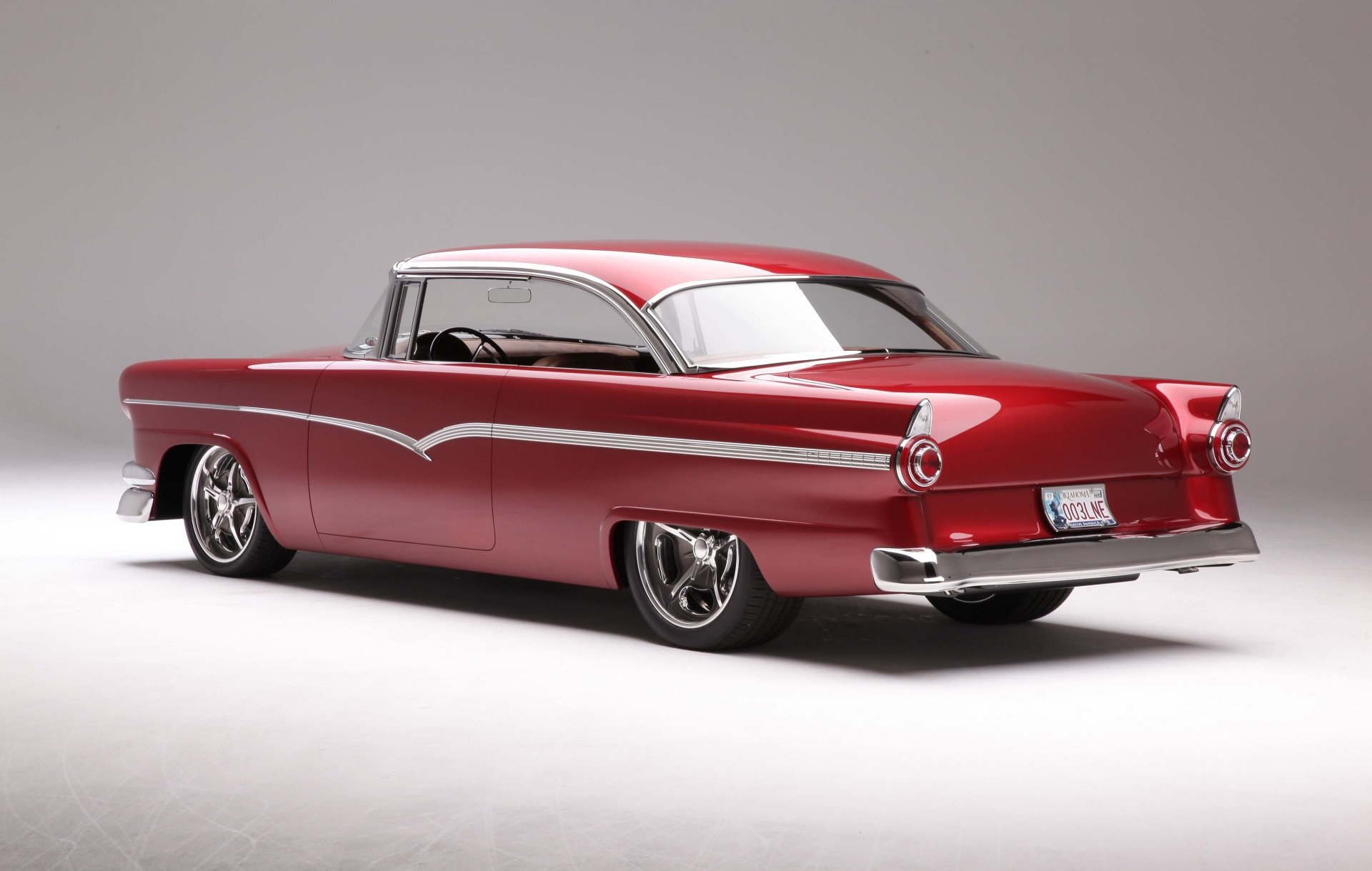 Vehicles - 1956 Ford Victoria  Ford Hot Rod Wallpaper