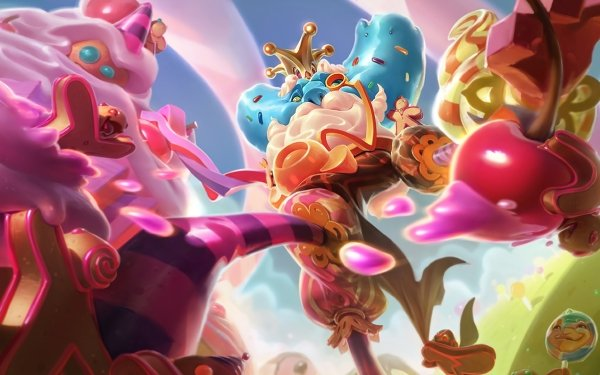 Video Game League Of Legends Ivern Candy Crown HD Wallpaper   Background Image