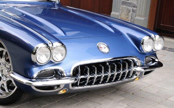 Vehicles Chevrolet Corvette Chevrolet Corvette 1959 Chevrolet Corvette Muscle Car Hot Rod HD Wallpaper | Background Image