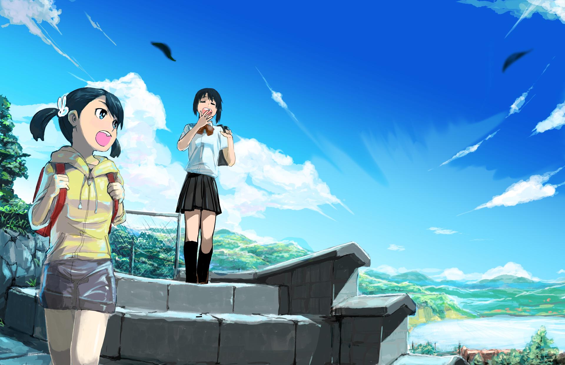 Hd wallpaper kimi no na wa - Kimi No Na Wa Mitsuha Miyamizu Taki Tachibana Hd Wallpaper Background Id 742314