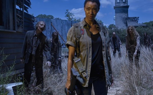 TV Show The Walking Dead Sasha Williams Sonequa Martin-Green Zombie HD Wallpaper | Background Image