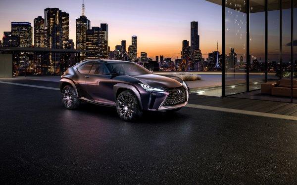 Vehicles Lexus Car SUV Purple Car City HD Wallpaper | Background Image