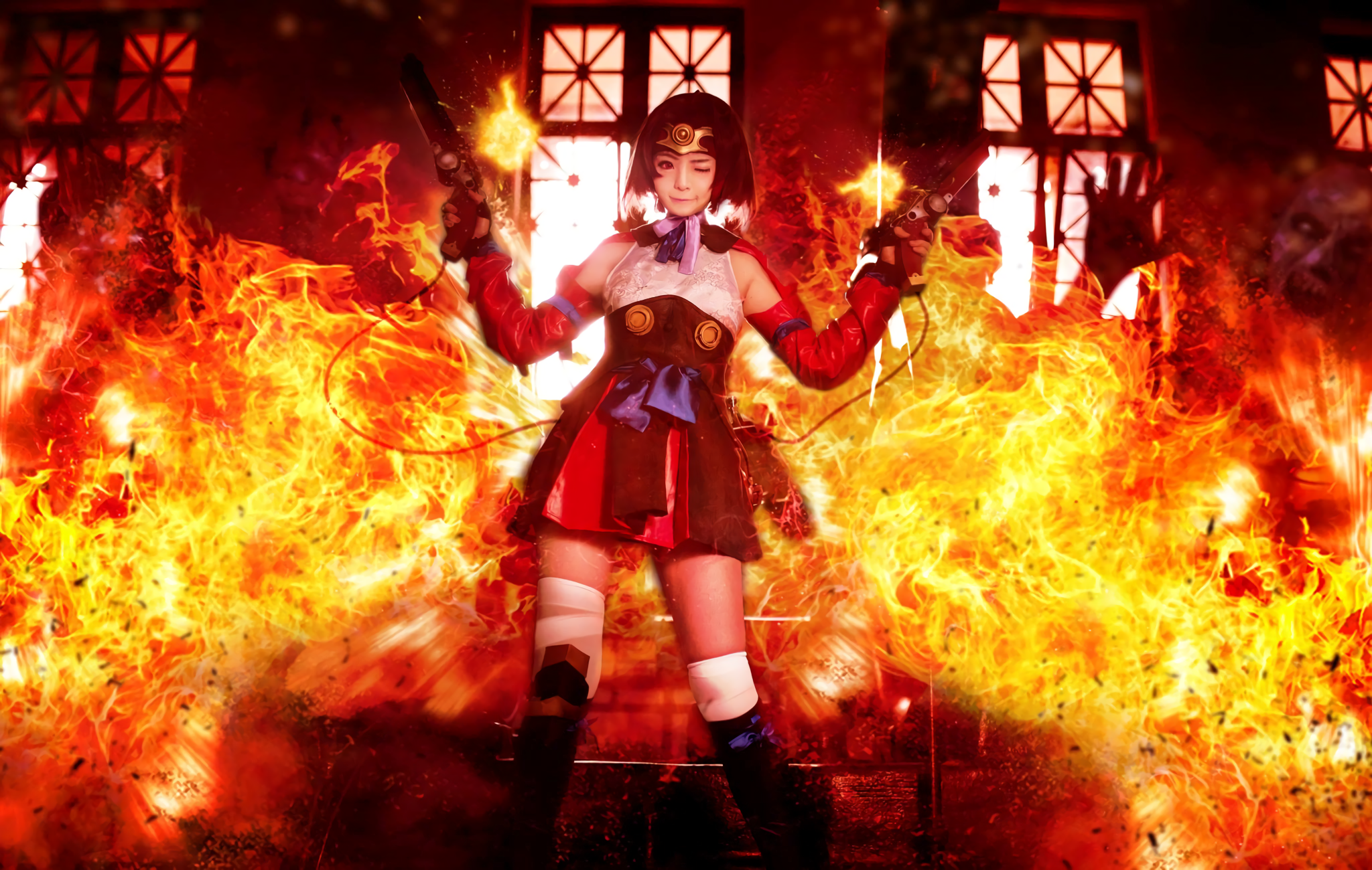 Kabaneri Of The Iron Fortress Wallpaper: Cosplay HD Wallpaper