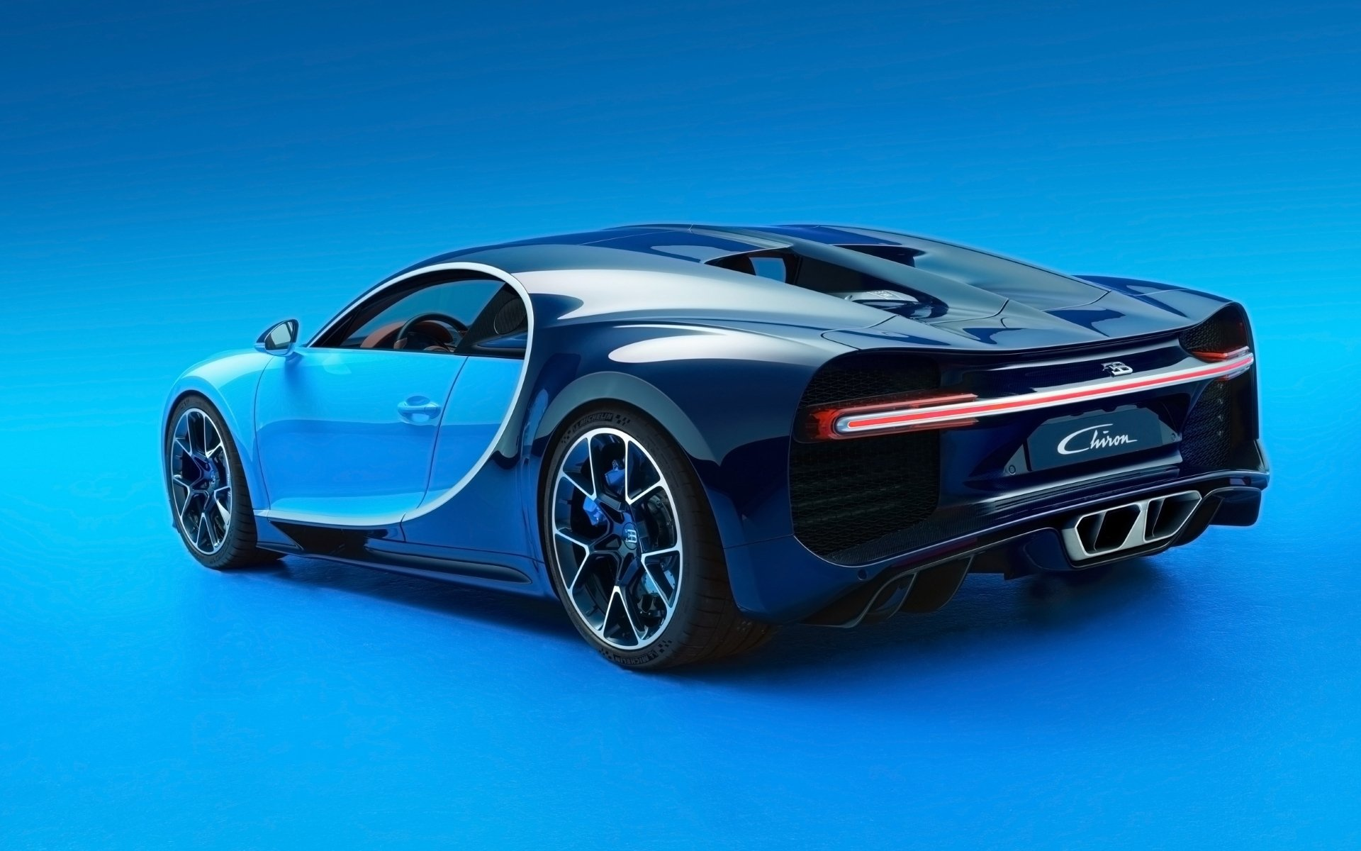 Vehicles - Bugatti Chiron  Bugatti Car Vehicle Blue Car Sport Car Supercar Wallpaper
