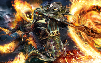 158 Ghost Rider Hd Wallpapers Background Images Wallpaper Abyss