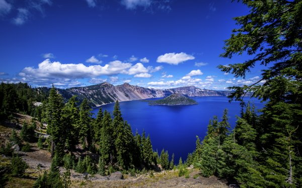 Earth Crater Lake Lake Oregon HD Wallpaper   Background Image