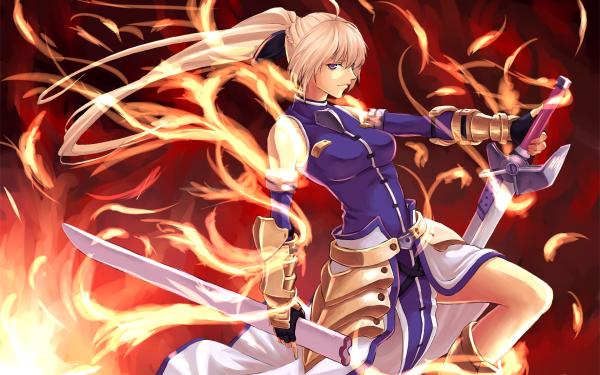 Anime Magical Girl Lyrical Nanoha HD Wallpaper | Background Image