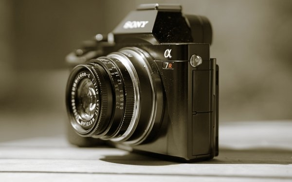 Man Made Camera Sony HD Wallpaper   Background Image