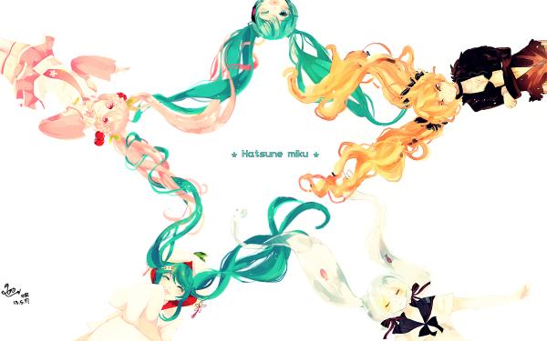 Anime Vocaloid Hatsune Miku Sakura Miku HD Wallpaper   Background Image