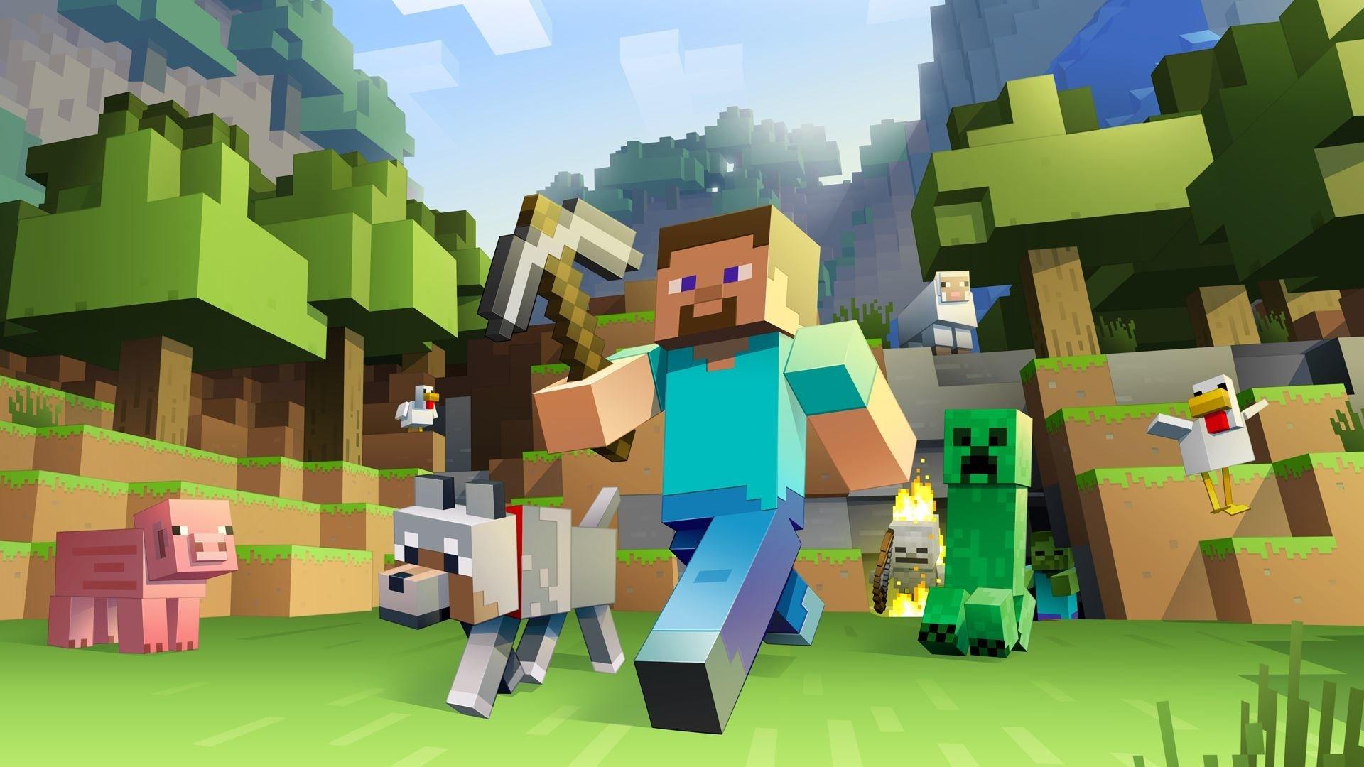 Minecraft Hd Wallpaper Background Image 1920x1080 Id 752070
