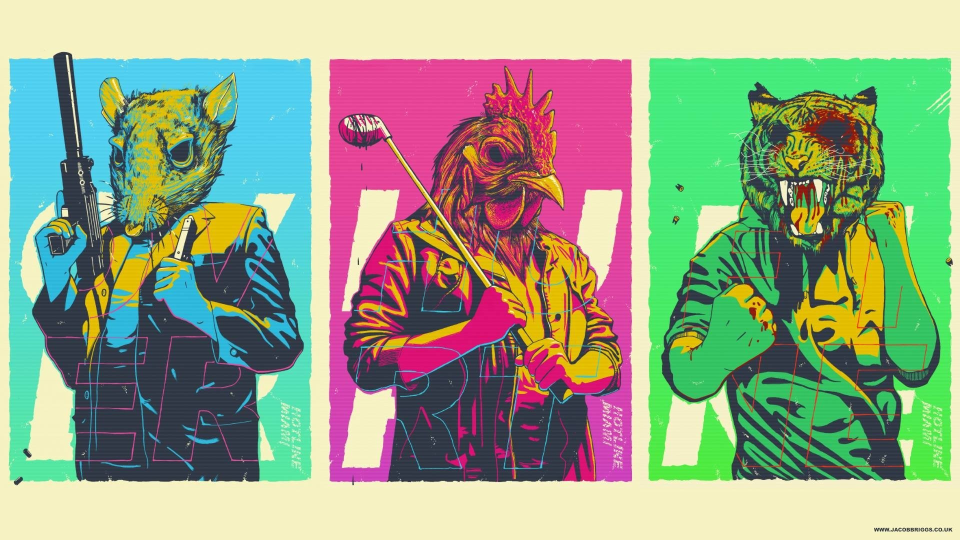 41 Hotline Miami Hd Wallpapers Background Images