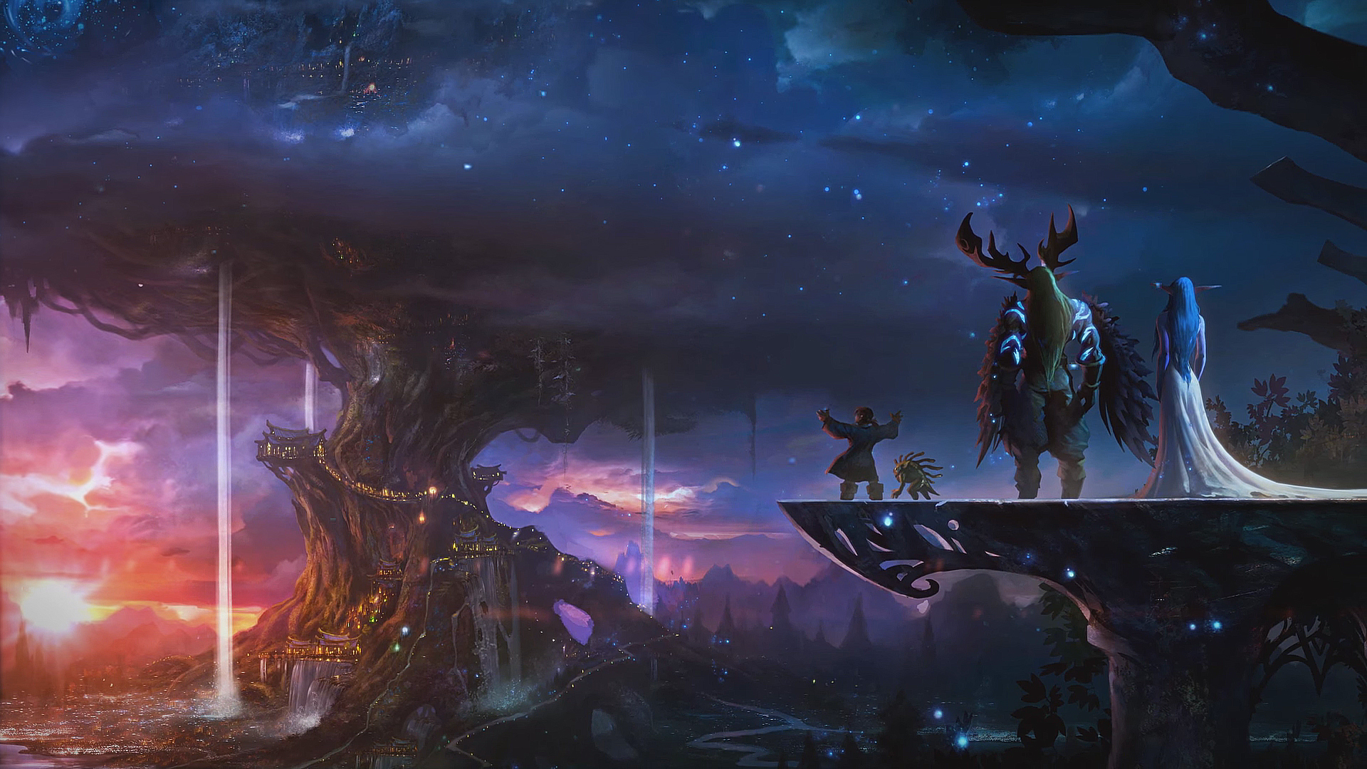 World Of Warcraft Wallpaper Bfa: 1 World Of Warcraft: Traveler HD Wallpapers
