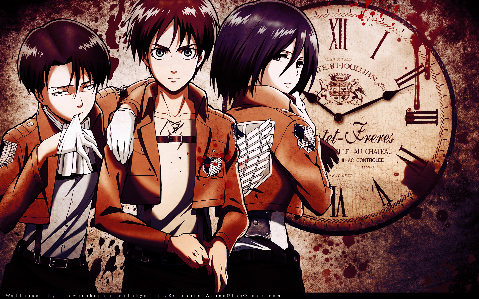 17 Best images about RivaMika (Levi X Mikasa) on Pinterest ... |Attack On Titan Levi And Mikasa