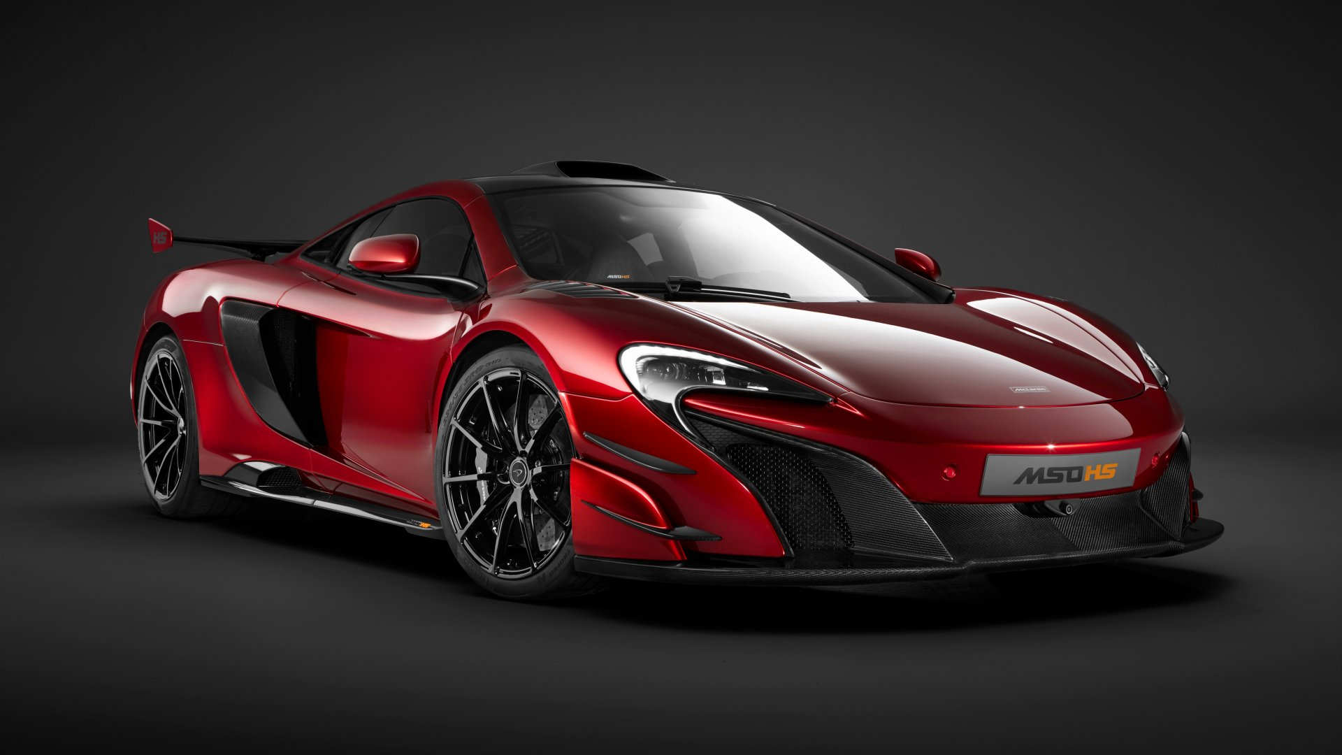 Vehicles - McLaren MSO HS  Red Car Sport Car Vehicle Car McLaren Supercar Wallpaper
