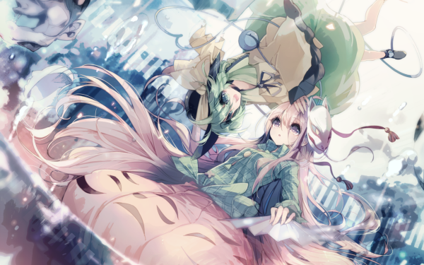 Anime Touhou Hata no Kokoro Koishi Komeiji HD Wallpaper | Background Image