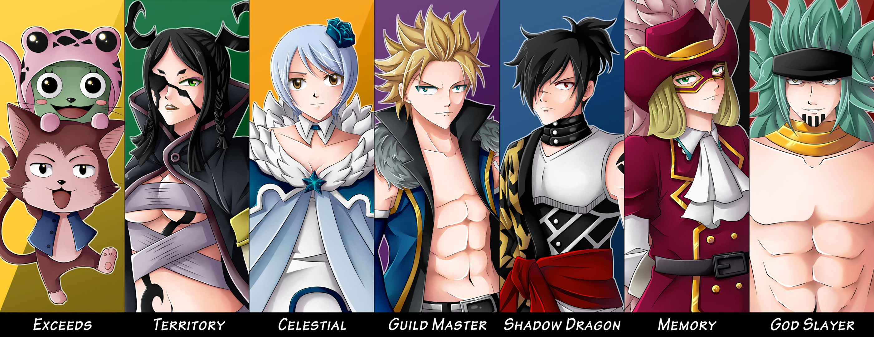 1 sabertooth  fairy tail  hd wallpapers