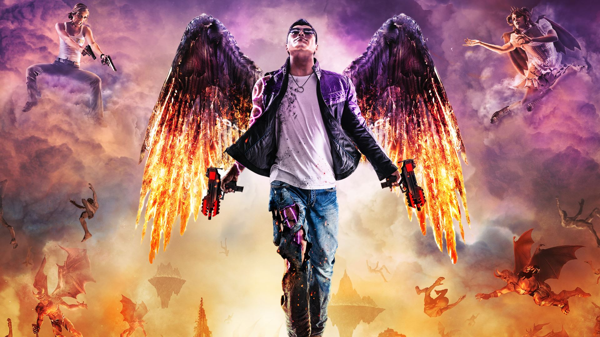 Saints Row 4 Wallpapers: Saints Row: Gat Out Of Hell HD Wallpaper